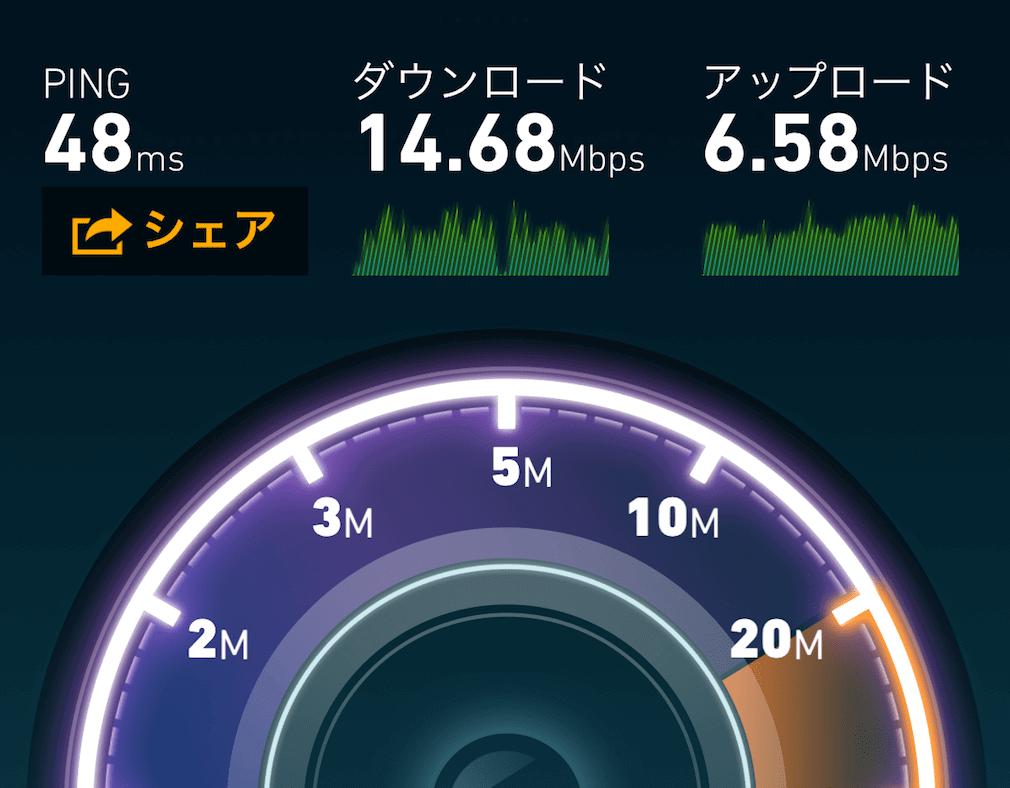屋内での通信速度はどれぐらい?ワイモバイル・ポケットWi-Fi