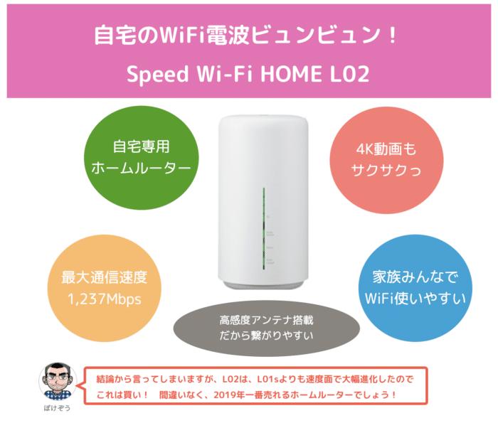 【比較レビュー】Speed Wi-Fi HOME L02は買い?L01sからどれだけ進化した?